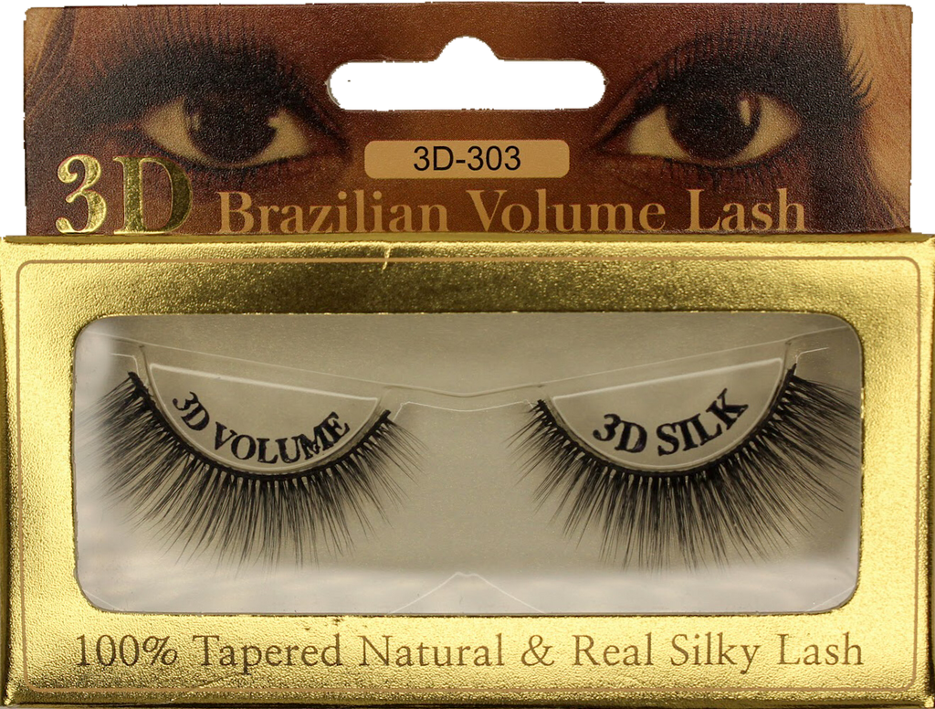 3D Mink Brazilian Volume Eyelash 3D-303 - GABBY'S HAIR
