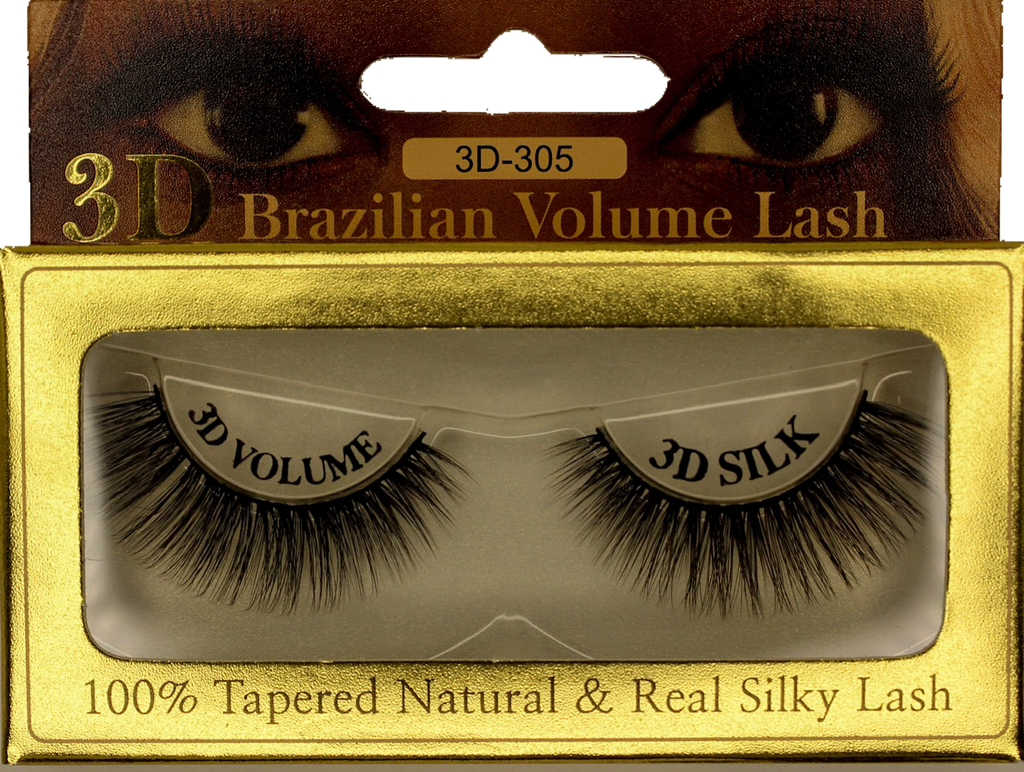 3D Mink Brazilian Volume Eyelash 3D-305 - GABBY'S HAIR