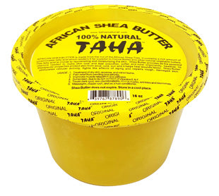 TAHA 100% NATURAL SOLID SHEA BUTTER - GABBY'S HAIR