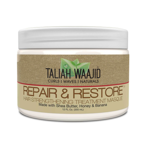 Taliah Waajid Curls, Waves, & Naturals Repair And Restore Hair Strengthening Masque 12oz - GABBY'S HAIR