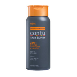 Cantu Men 3 IN 1 Shampoo/Conditioner/Body wash - GABBY'S HAIR