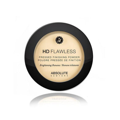ABSOLUTE HD FLAWLESS PRESSED FINISHING POWDER BRIGHTENING BANANA - GABBY'S HAIR