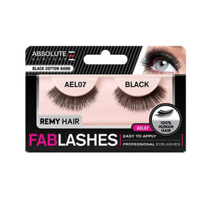 ABSOLUTE REMY FABLASHES BLACK COTTON BAND AEL07 - GABBY'S HAIR