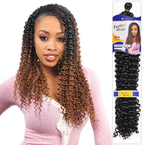 "Freetress Braid Water Wave 22"" - GABBY'S HAIR"