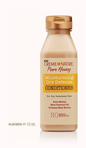 Creme Of Nature Pure Honey Moisturizing Dry Defense Conditioner - GABBY'S HAIR