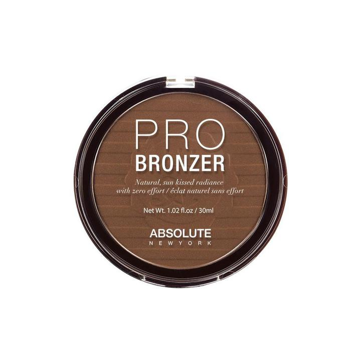 ABSOLUTE NEW YORK PRO BRONZER - APB02 MEDIUM - GABBY'S HAIR