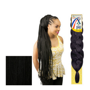 "AMOUR SYNTHETIC KANEKALON BRAIDS EXTRA LONG BRAID 96"" 1 - GABBY'S HAIR"