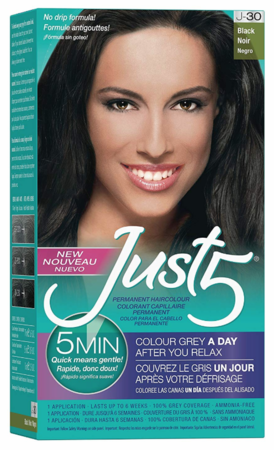 JUST5 5-Minute Hair Color BLACK J-30 - GABBY'S HAIR