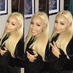 Brazilian 613 Blonde Human Hair 3 Bundles + Frontal - GABBY'S HAIR