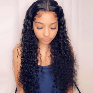 Deep Wave 13X4 Lace Front Wig - GABBY'S HAIR