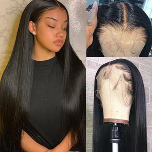 HD Transparent Lace Wig Straight Brazilian 13x6 Lace Front - GABBY'S HAIR