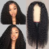 Curly Human Hair 13x4 Lace Front Wig - GABBY'S HAIR