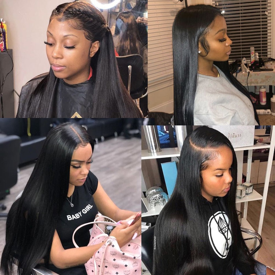 Brazilian Straight 13x6 Lace Front Wig - GABBY'S HAIR