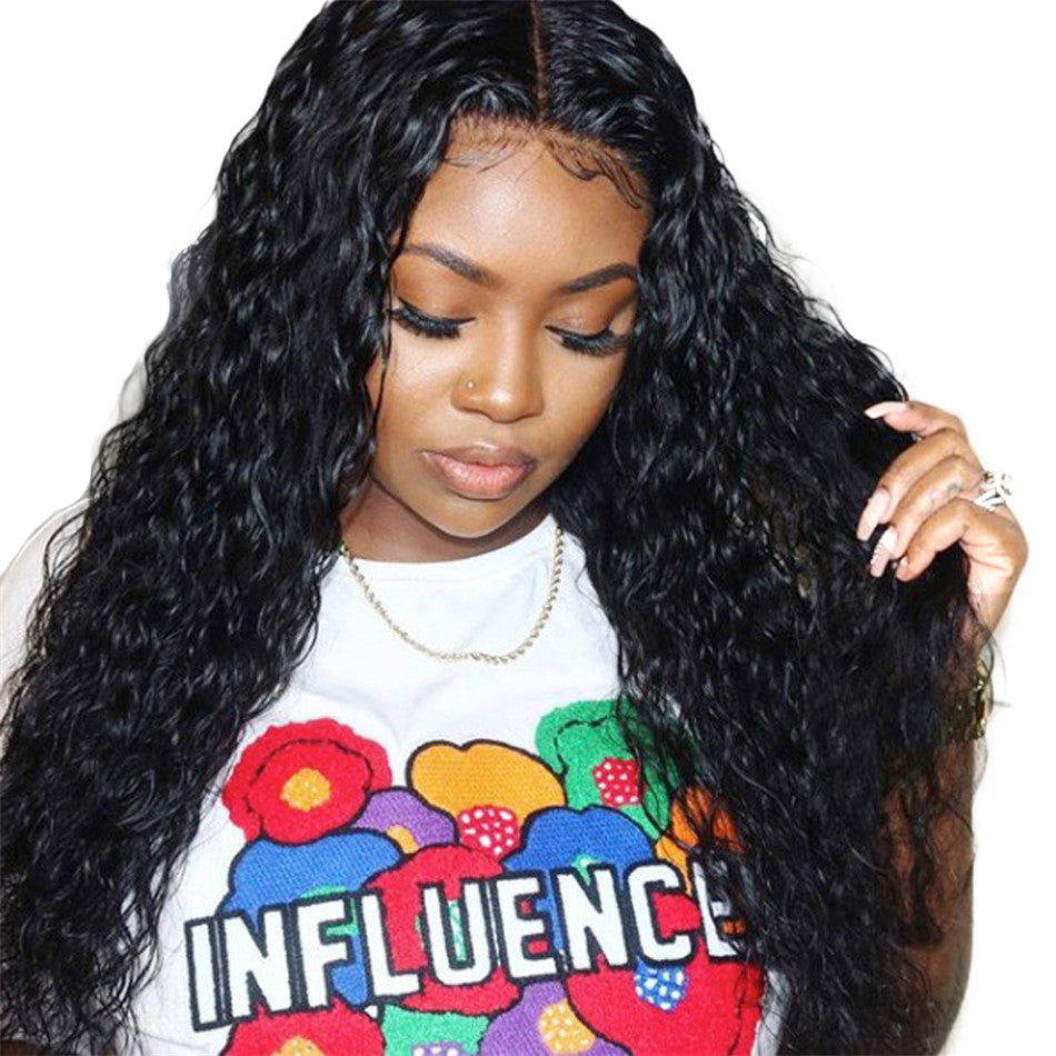 Malaysian Water Wave 13x4 Lace Frontal Wig - GABBY'S HAIR