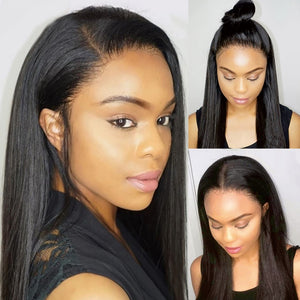 Peruvian Straight 360 Lace Front Wig - GABBY'S HAIR