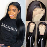 Malaysian Straight 13x4 Lace Front Wig - GABBY'S HAIR