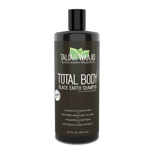 Taliah Waajid Total Body Black Earth Shampoo 32oz - GABBY'S HAIR