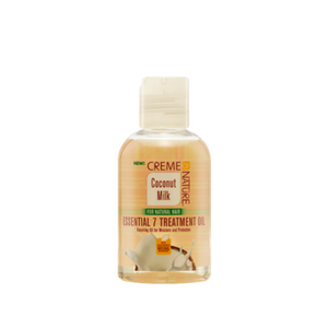 Creme Of Nature Coconut Milk Essential 7 Treatment Oil - GABBY'S HAIR