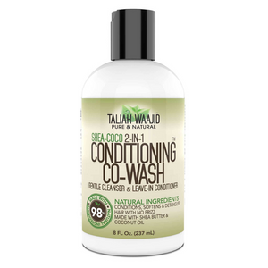 Taliah Waajid Shea-Coco Conditioner Co-Wash 8 oz. - GABBY'S HAIR