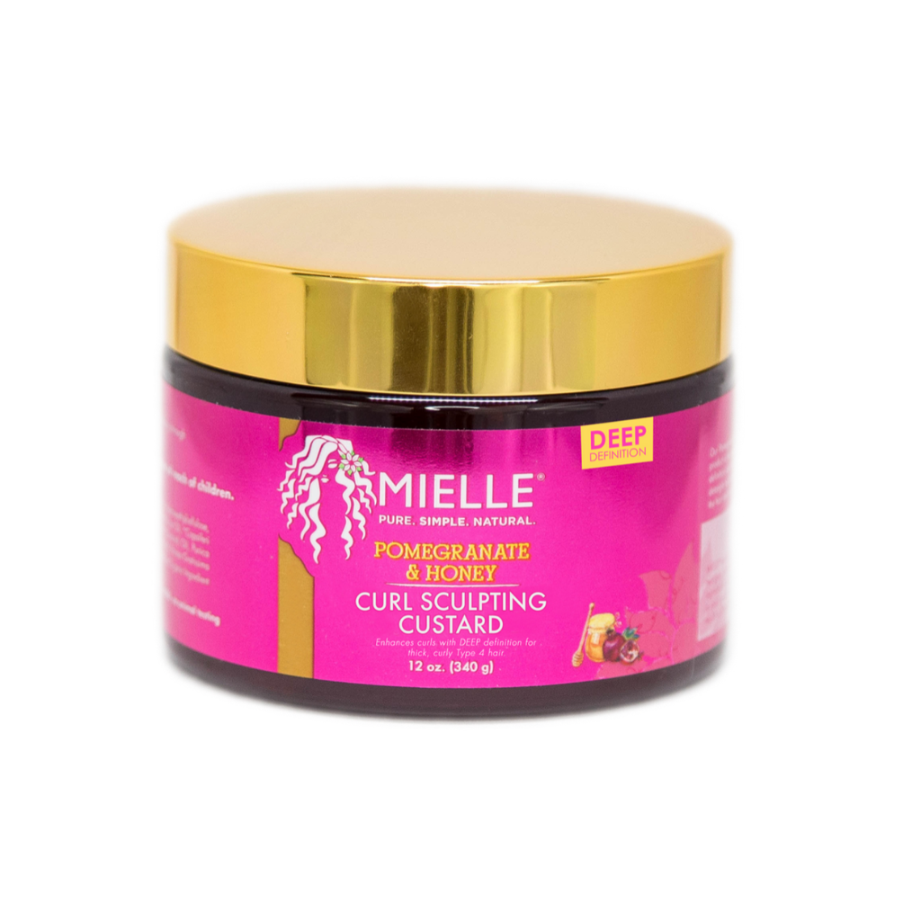 Mielle Organics Pomegranate & Honey Curl Sculpting Custard - GABBY'S HAIR