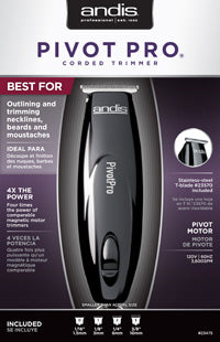 Andis Pivot Pro Trimmer - GABBY'S HAIR