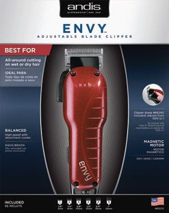 ANDIS CLIPPER ENVY - GABBY'S HAIR