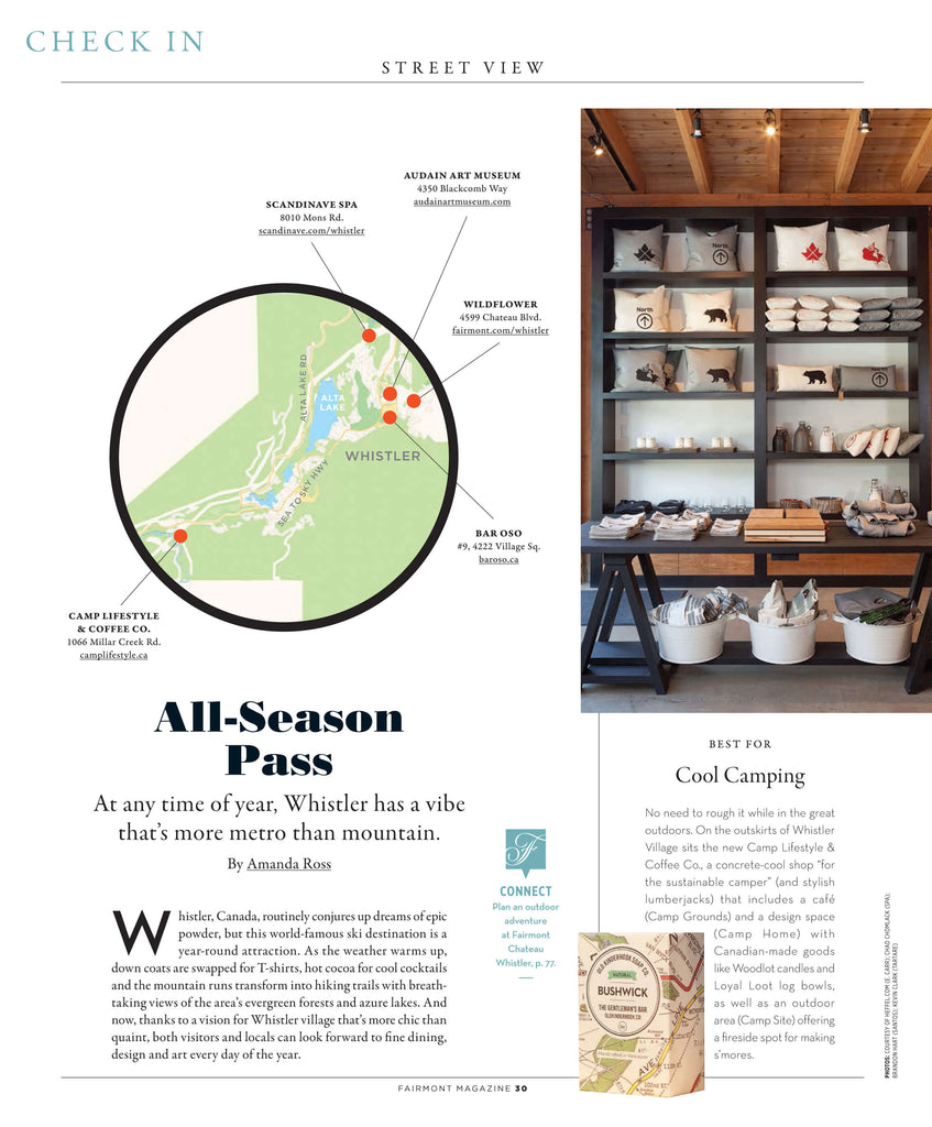 Fairmont Magazine 2016: All Season Pass