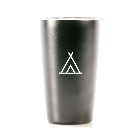 Camp Travel Cup Black 12oz