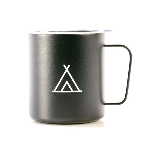 Camp Travel Mug 12oz Black