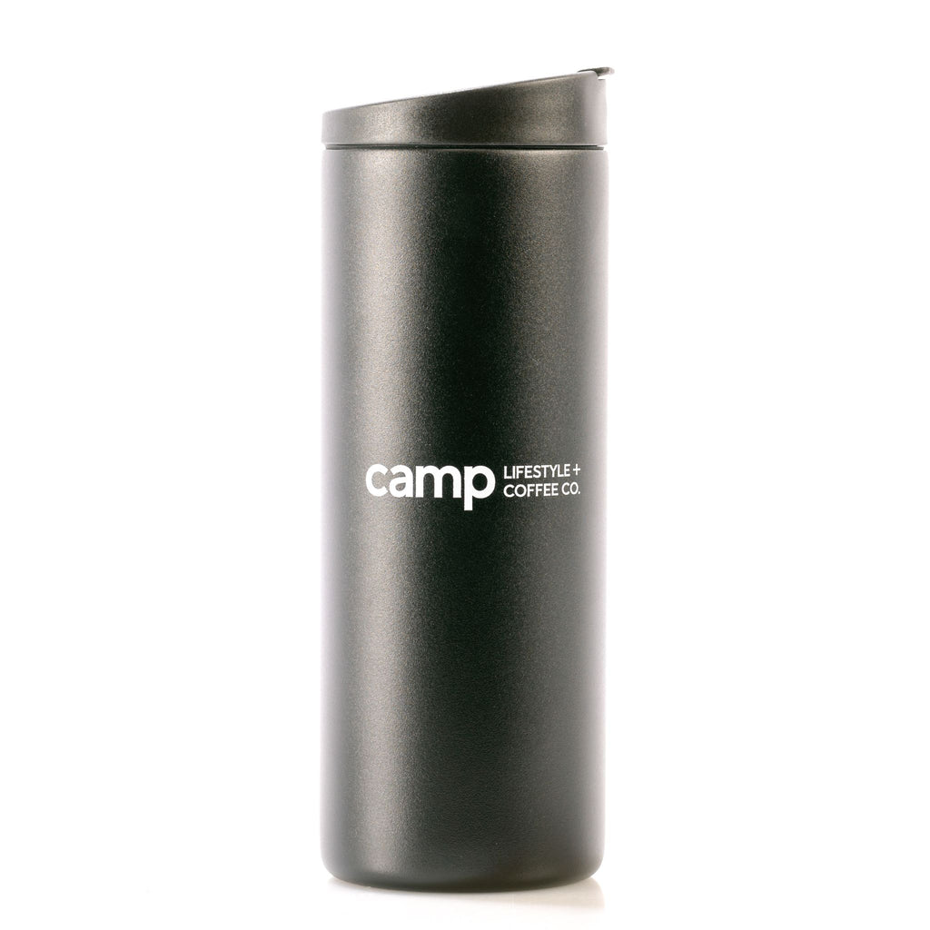 Camp Travel Tumbler 16oz Black