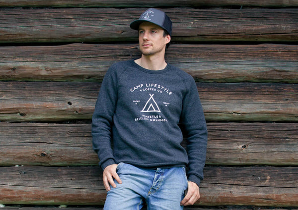 Men's Crewneck Sweater Dark Grey
