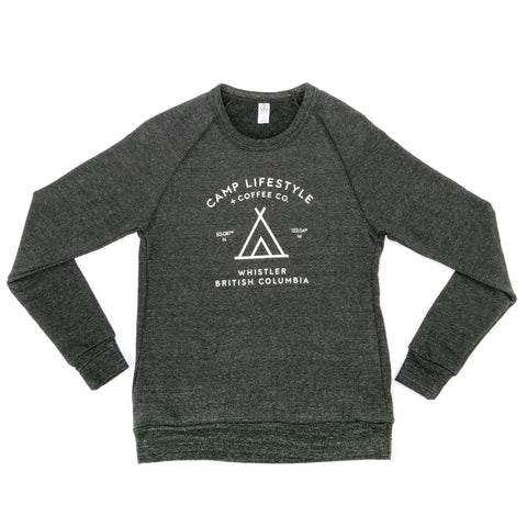 Women's Crewneck Sweater Dark Grey