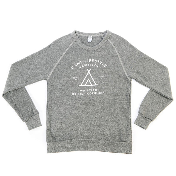 Women's Crewneck Sweater Light Grey