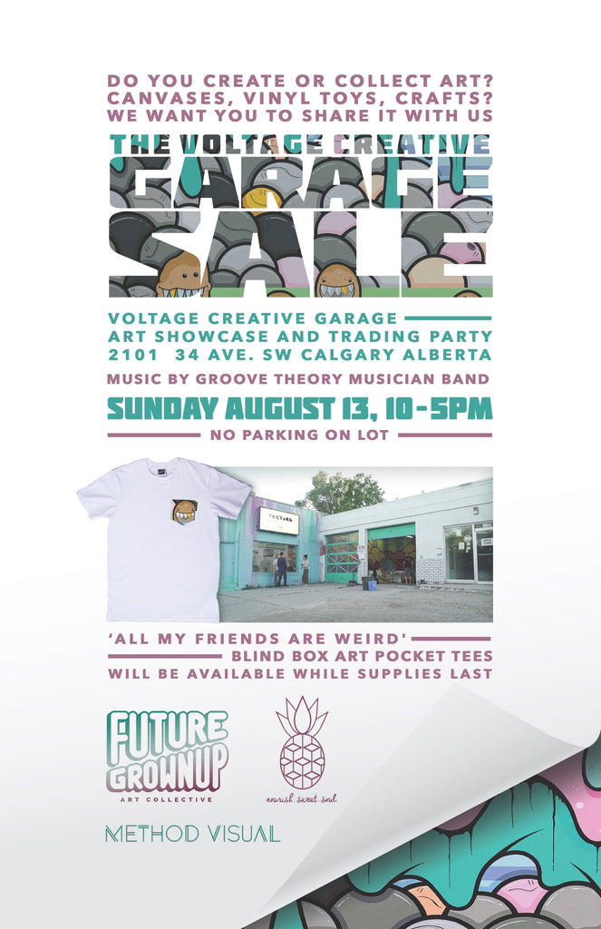 The Voltage Creative Garage Sale!
