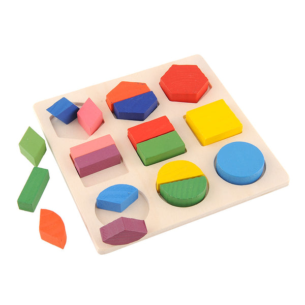 Baby Wooden Building Block Early Educational Toys