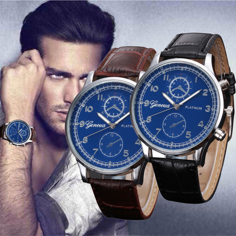 Relogio Masculino Wristwatch Mens Quartz-Watch