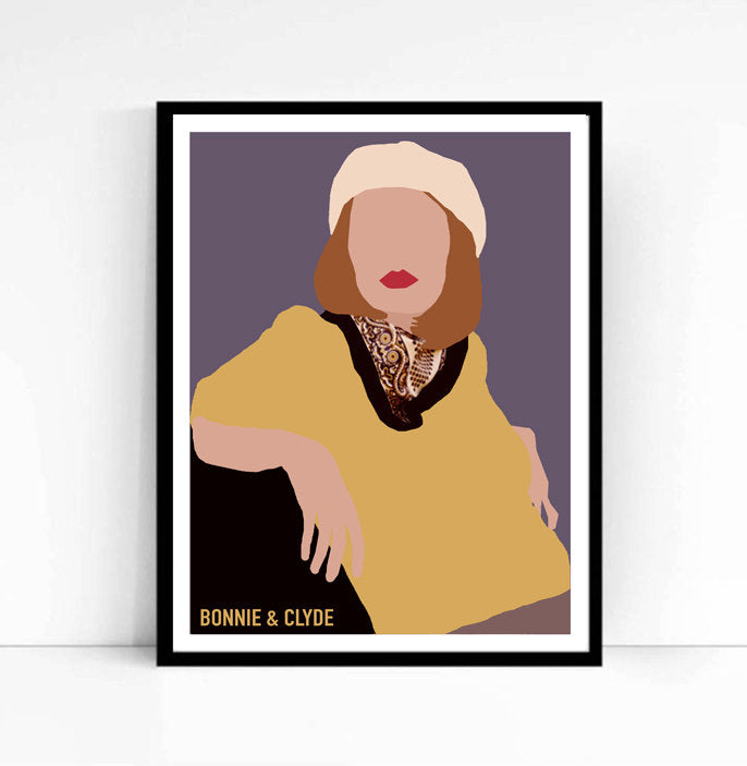 Bonnie & Clyde • Movie Print