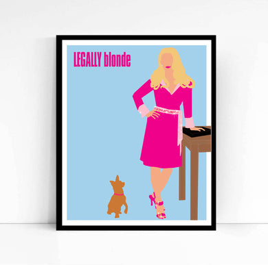 Elle Woods, Legally Blonde • Movie Print