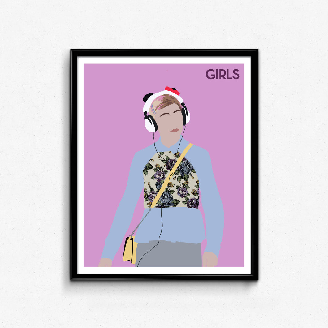 Girls, Shoshanna Shapiro • TV Print