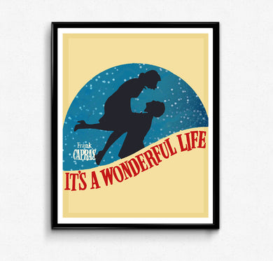 It's a Wonderful Life Poster • Movie Print