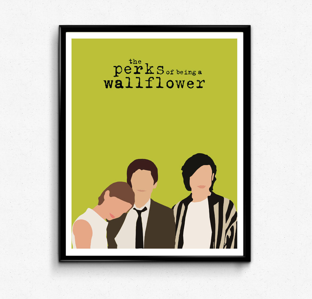 Perks of Being a Wallflower • Movie Print