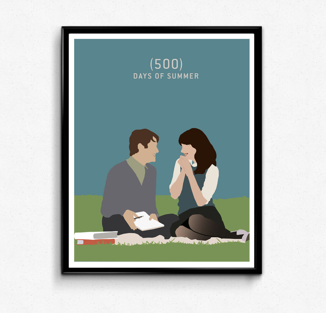 500 Days of Summer • Movie Print