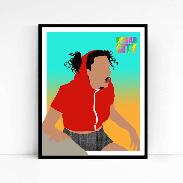Broad City, Ilana • TV Print