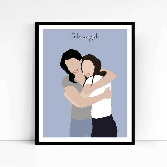 Gilmore Girls • TV Print