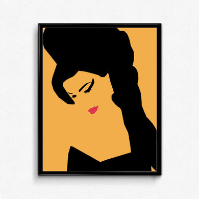 Amy Winehouse • Music Print