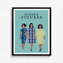 Hidden Figures • Movie Print