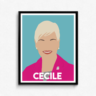 Cecile Richards • Feminist Print