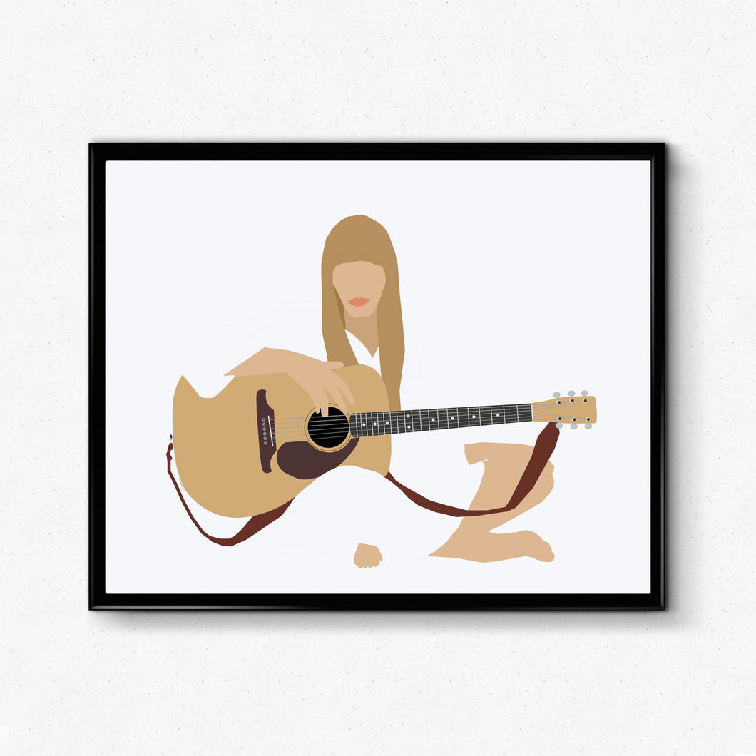 Joni Mitchell • Music Print