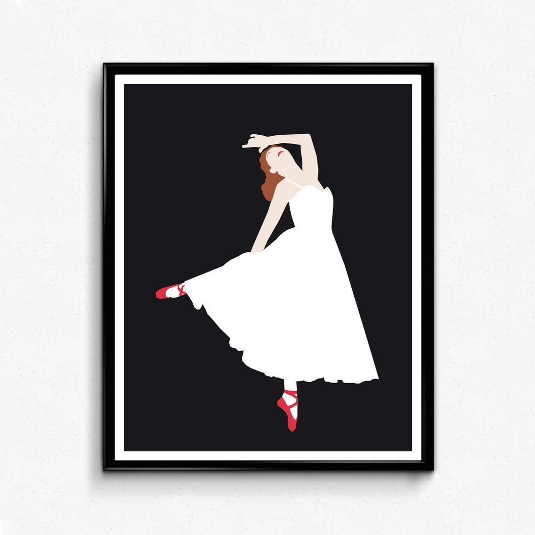 The Red Shoes • Movie Print