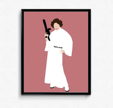 Princess Leia • Movie Print
